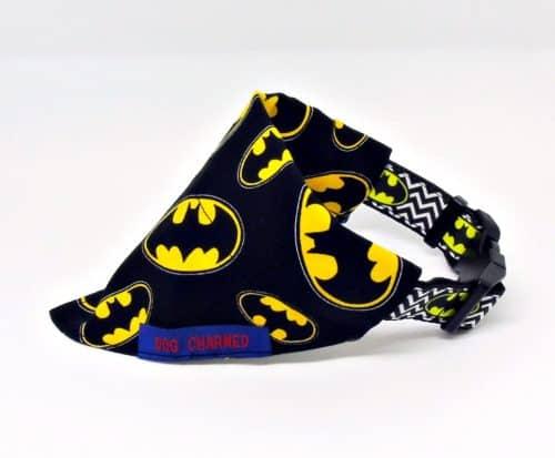 batman dog collar bandana