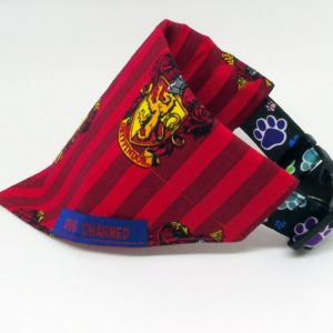 gryffindor dog collar bandana