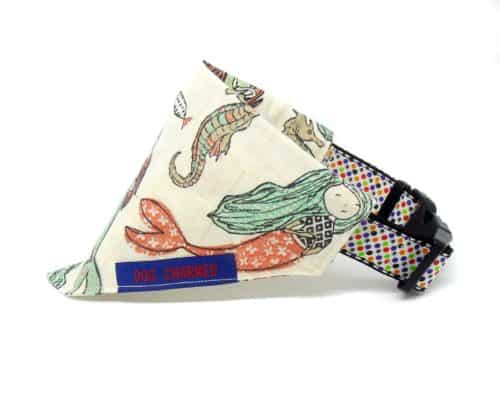 mermaid dog bandana