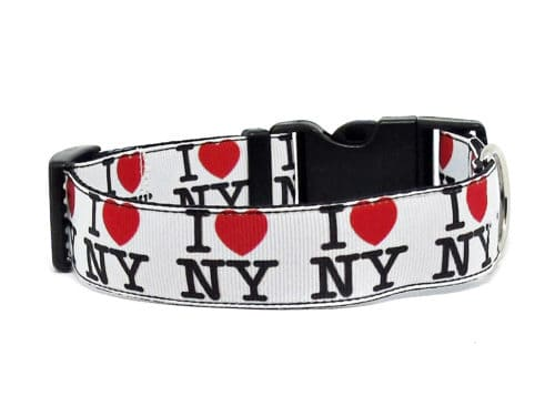 new york dog collar