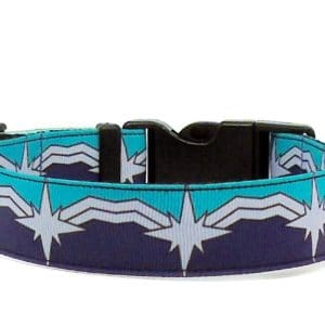 captain marvel kree warrior dog collar
