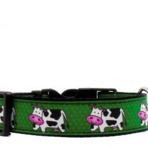 cow dog collar
