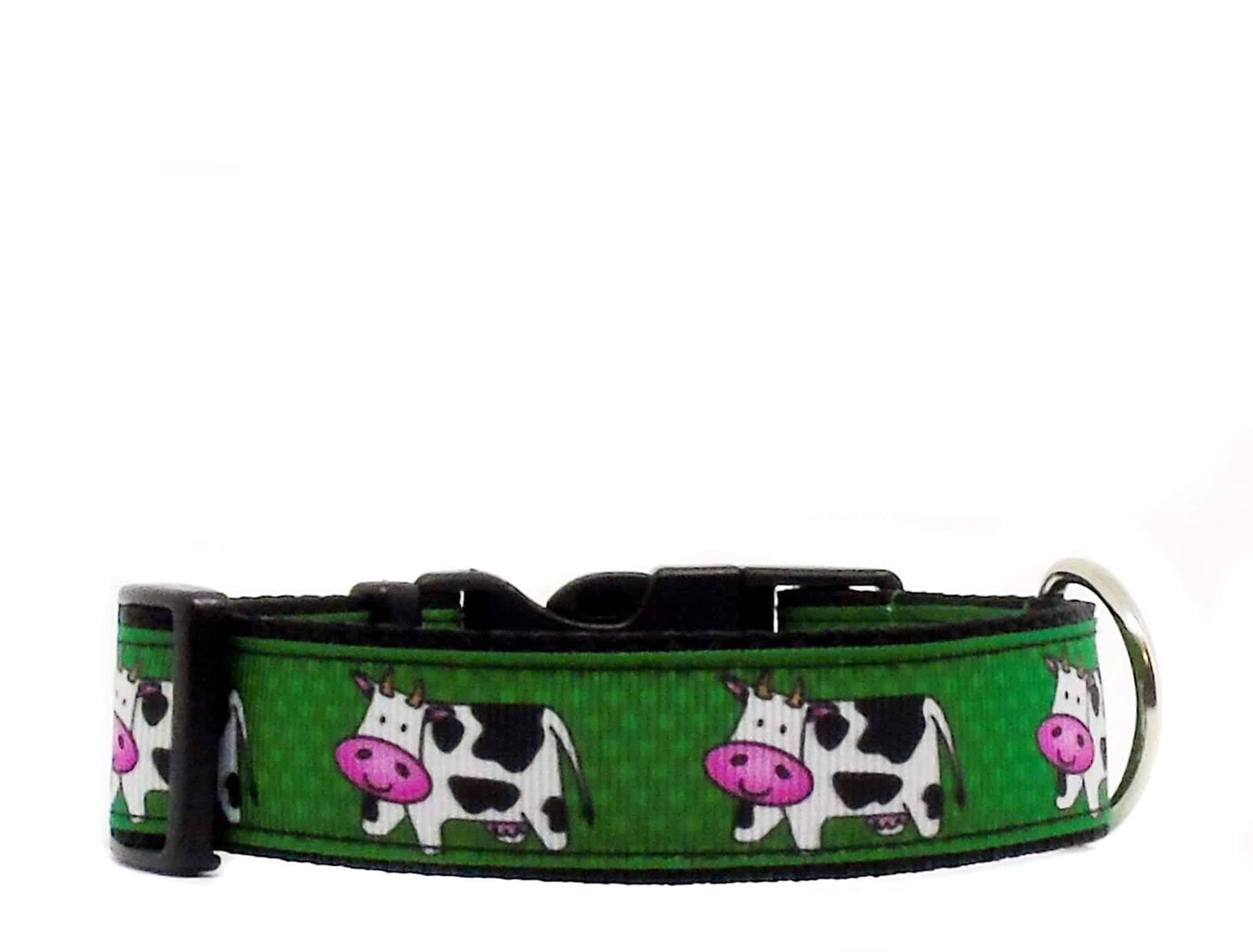 cow dog collar