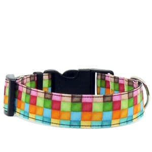 mosaic dog collar
