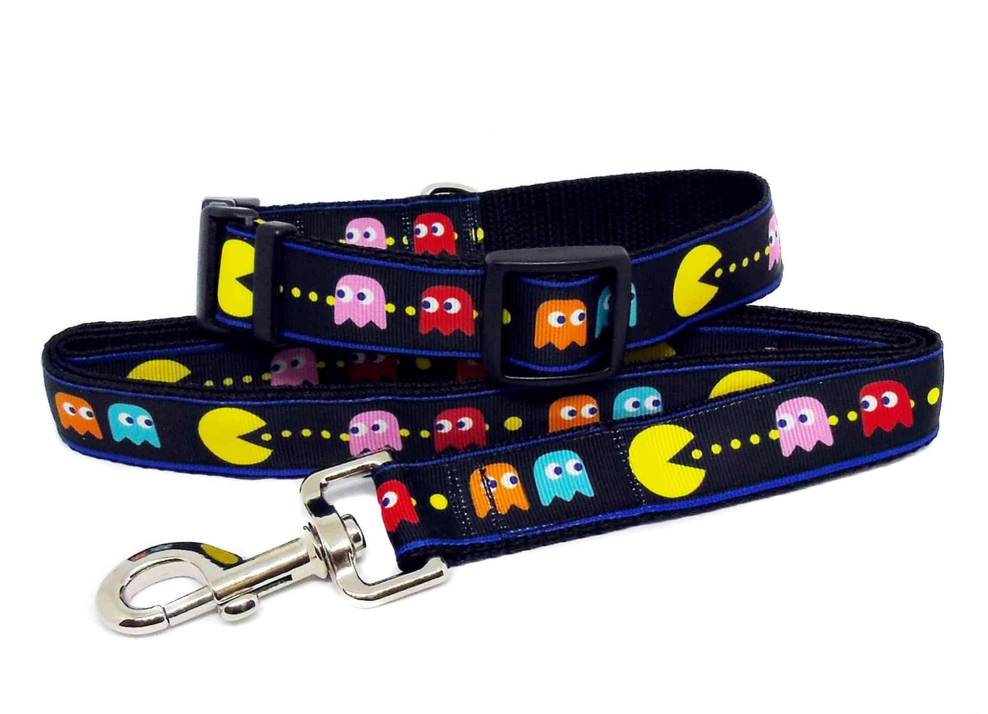 pac-man collar and lead