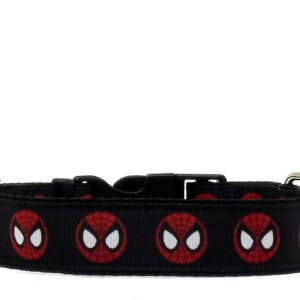 spiderman dog collar