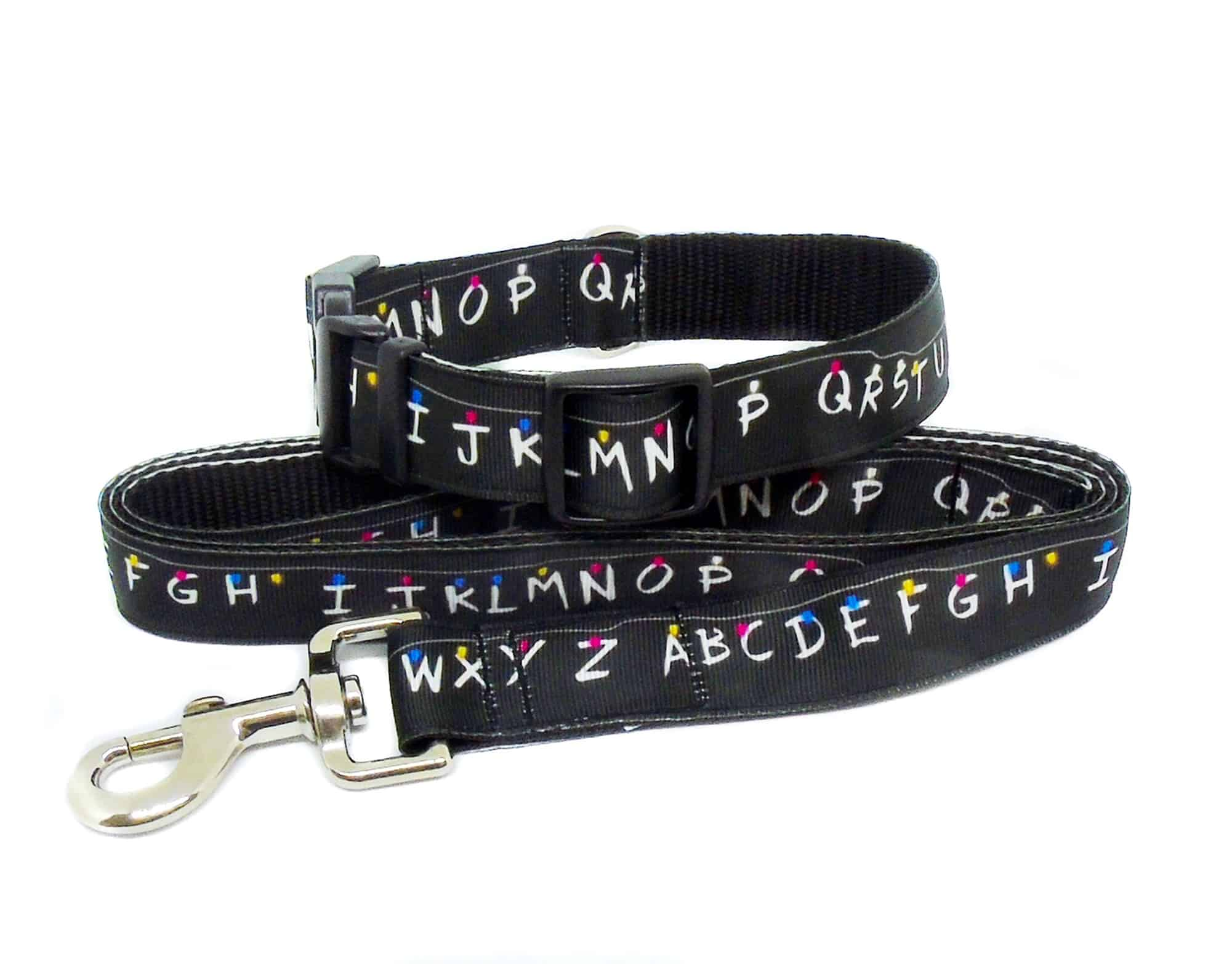 stranger things collar and lead set
