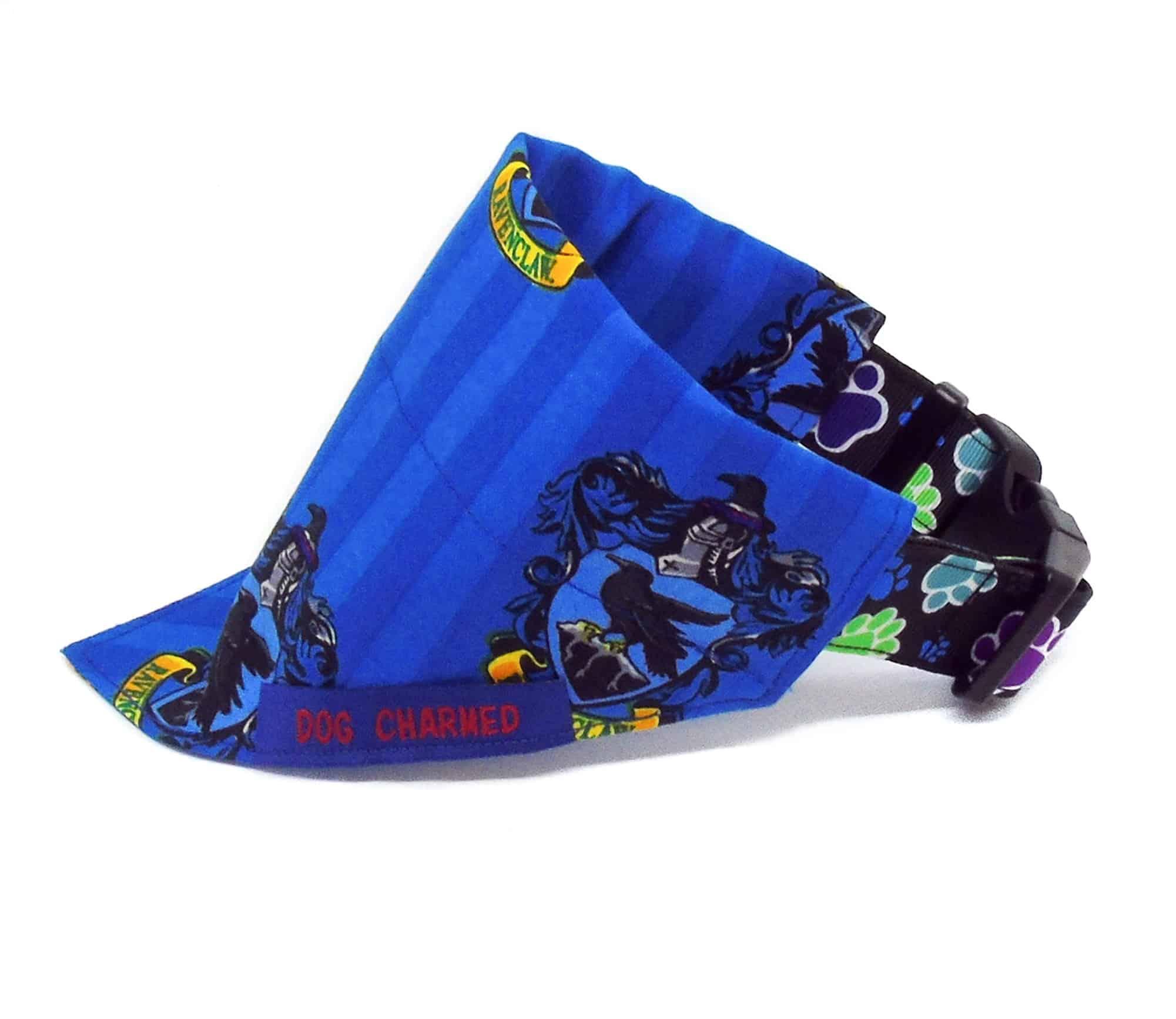 ravenclaw dog bandana