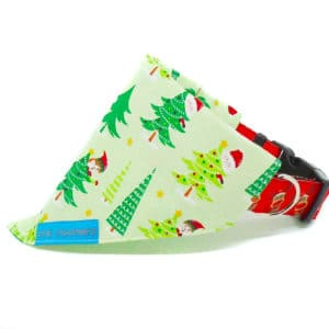christmas elf dog bandana
