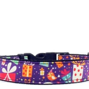 christmas presents dog collar