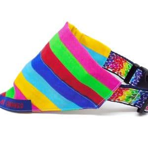 rainbow pride stripes bandana