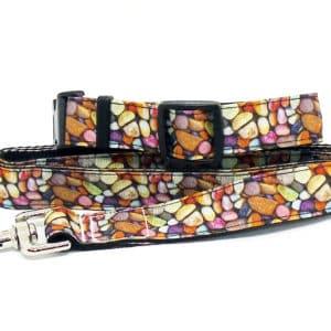 pebbles dog collar and lead set