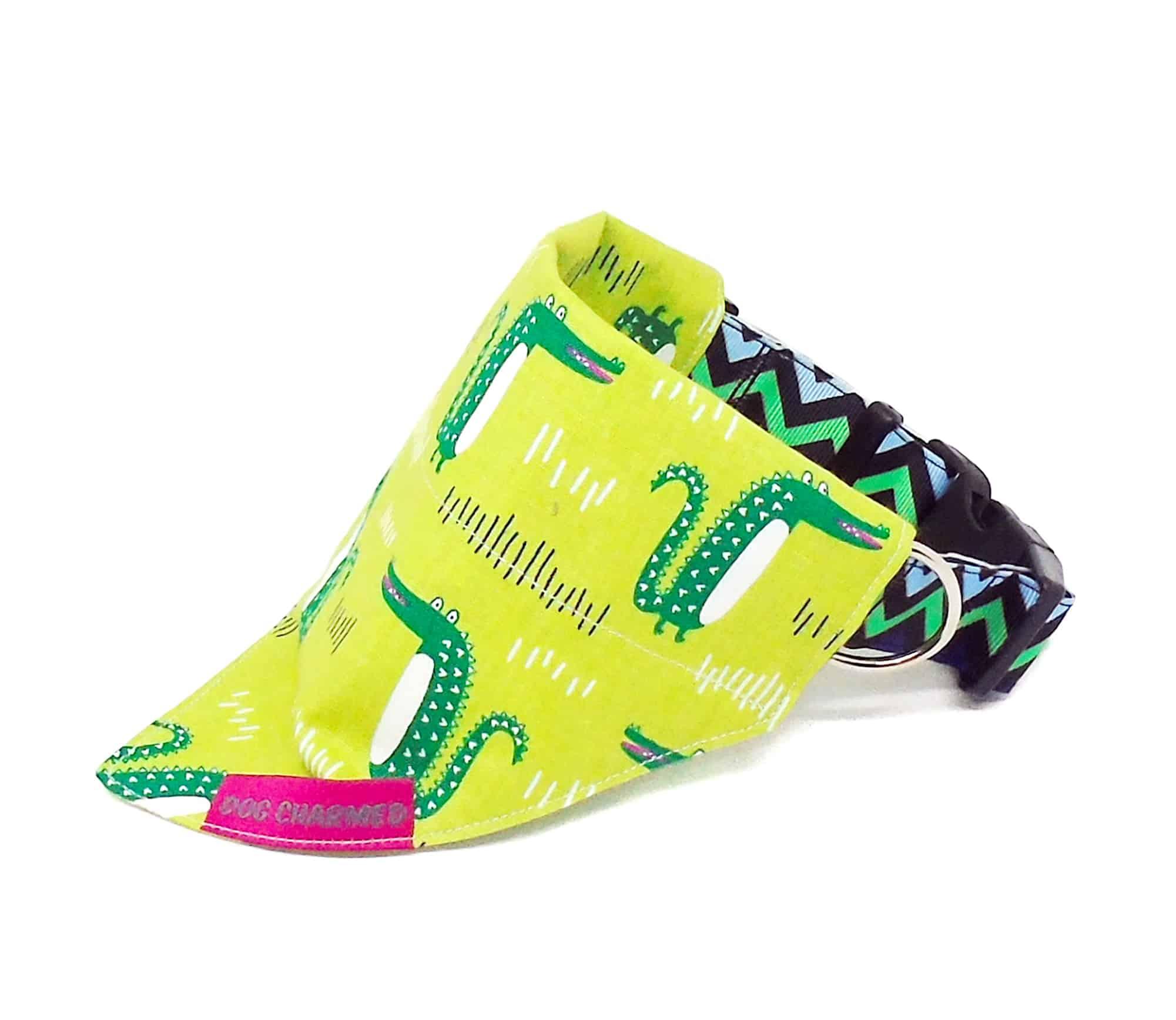 alligator dog bandana
