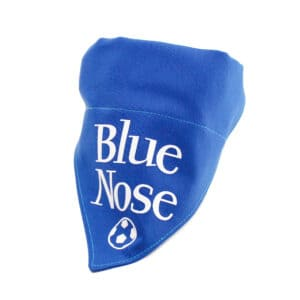 blue nose bandana