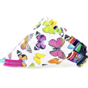 butterfly dog bandana