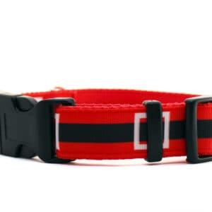 father christmas dog collar