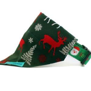 reindeer dog bandana