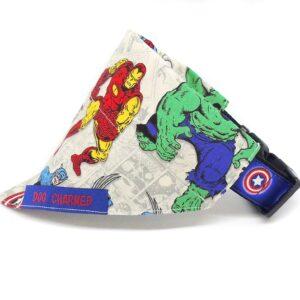 marvel superheroes bandana fabric