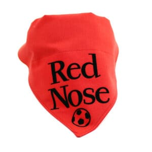 red nose bandana
