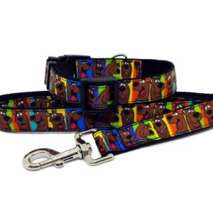 scooby collar and lead