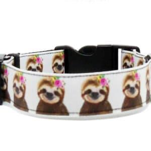 sloth dog collar