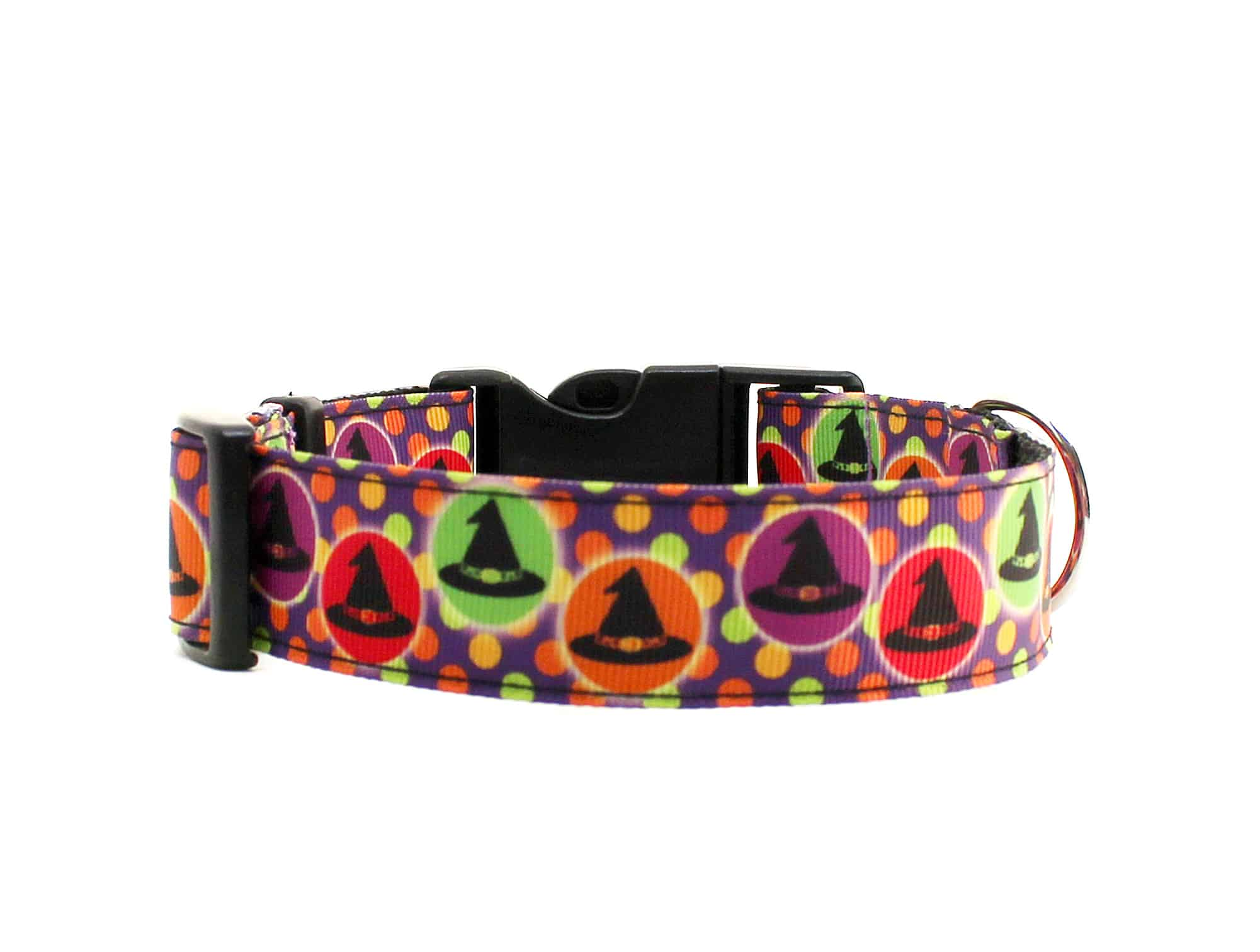 witches halloween dog collar