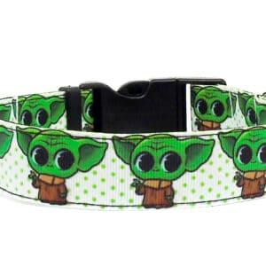 baby yoda dog collar