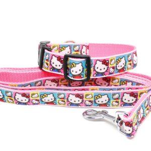 Hello Kitty collar and lead set