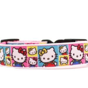 hello kitty dog collar
