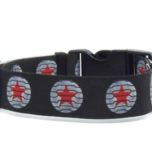 Winter Soldier dog collar