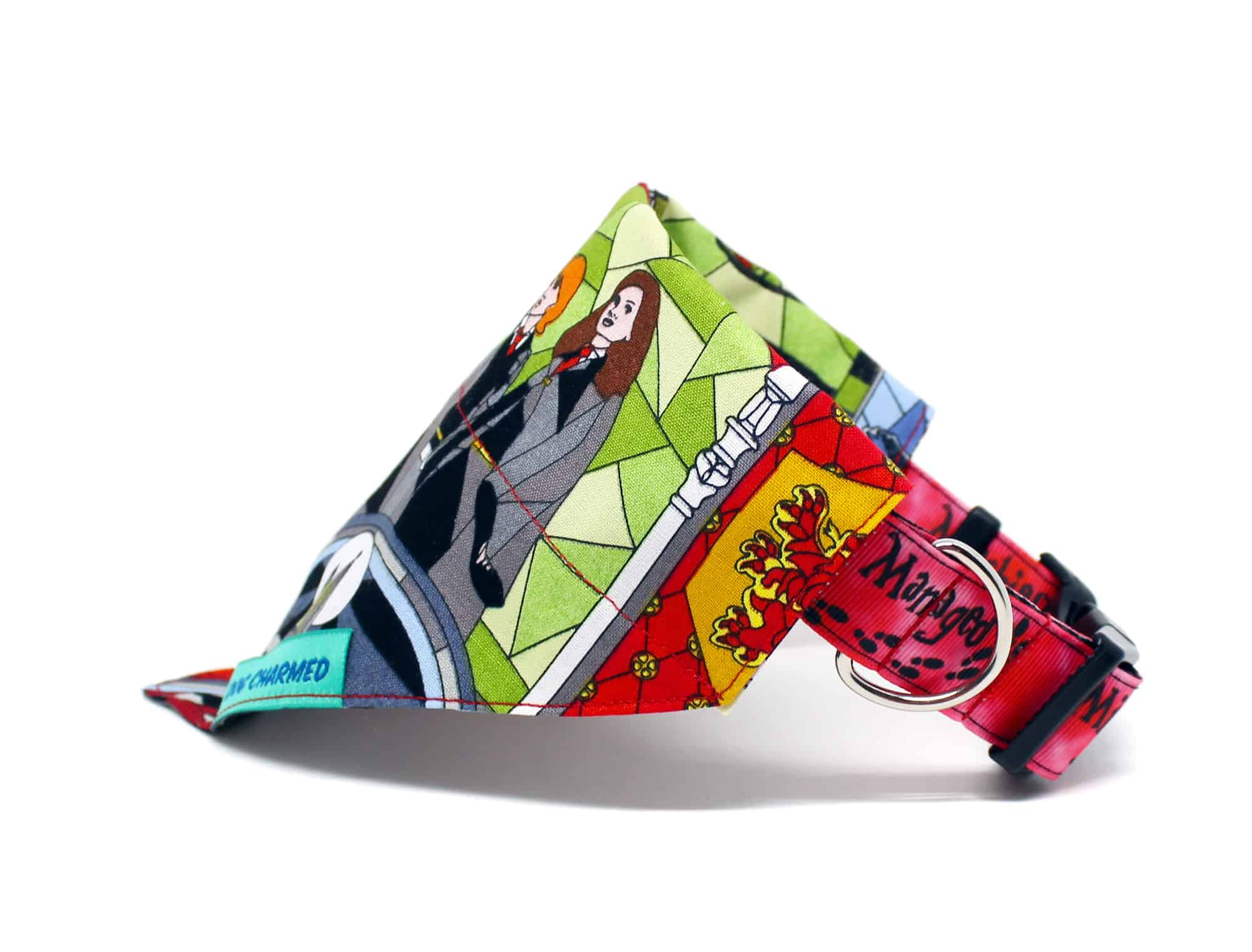 stained glass dog bandana