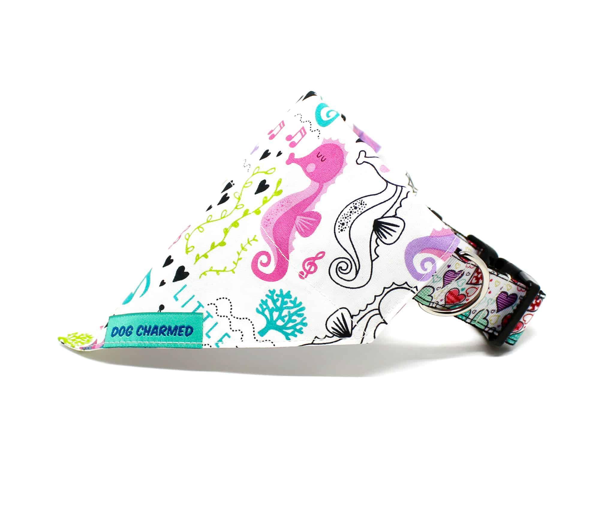 seahorse dog bandana