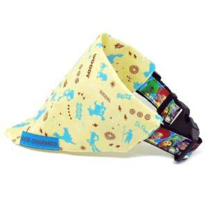 yellow toy bandana